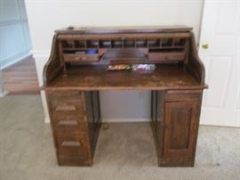 Roll Top Desk From The Texas Capital