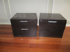 Black End Tables With Storage