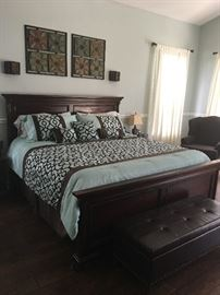 King Size Sleigh Bed