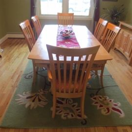 Dining Suite / Rugs