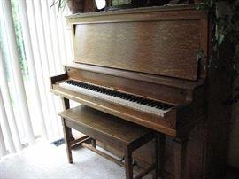 Antique Piano- Restored