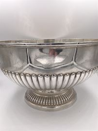 English sterling silver bowl
