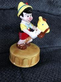 Pinocchio Music box by Schmid