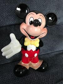 Disney Mickey Mouse figurine, Japan