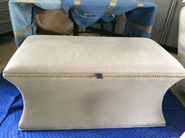 Gray Fabric Chest
