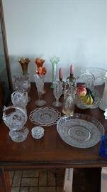Carnival glass, glassware