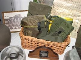 Military packs and field gear