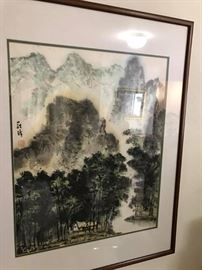 chinese water color