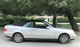 1999 Mercedes Benz CLK-Class Convertible with only 72,000 miles and always garaged.