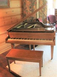 "It's a Zoe TeBeau Estate Sale in Arcadia   111Hacienda Drive  Arcadia, CA 91006  June 3-4  8:00 to 2:00 daily  Beautiful antiques, furnishings and décor.  Highlights are a Chickering Baby Grand (5'3"") piano. Mahogany case. Serial number 127240 dating from1915-1920"