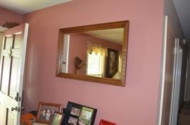 Gold Gild Frame Wall Mirror
