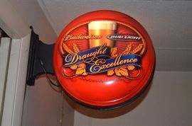 Anheuser Busch Budweiser Bud Light Bar Light. Beautiful! There a 2 of these!