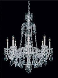 Schonbeck Hamilton crystal chandelier. $2750.
