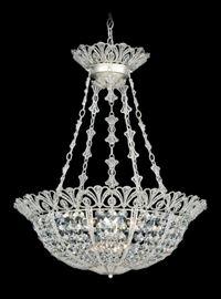 """Schonbeck Tiara crystal chandelier, 24"""" lenght.. $2500."""