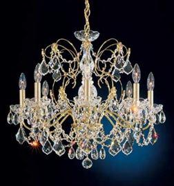 Schonbeck Heritage handcut crystal chandelier. $500.