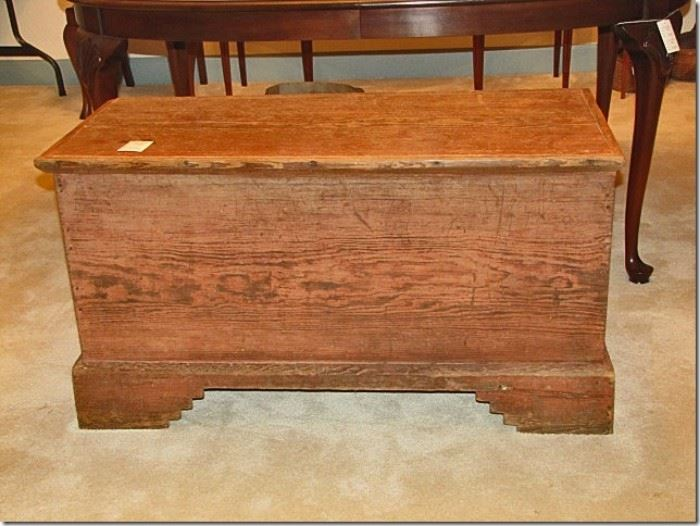 Sanders pine blanket chest