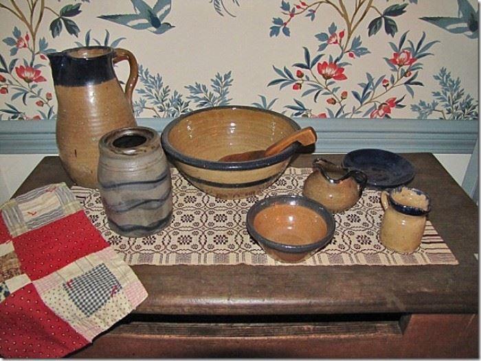 Hilton pottery