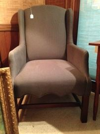 Small wing chair