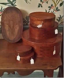Shaker finger jointed boxes