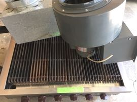 Wolf indoor grill, with 6 burners! In great shape!