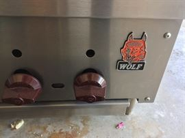 Only the best! Wolf indoor grill.