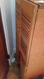 3 SETS OF SHUTTER DOORS