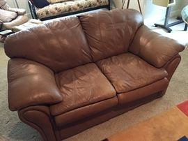 Stuffed Love Seat for Man Cave