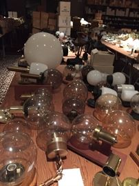 Globe light fixtures