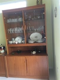 Copenhagen Danish Modern China Hutch