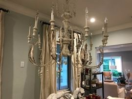 One of Several chandeliers