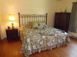Brass Bed. Only one Twin bed remaining