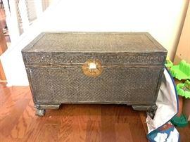 vintage chest- set of 2