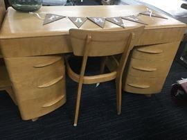 Haywood Wakefield Kneehole Desk