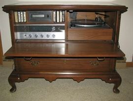 Wonderful Stereo system in working order including the 8 track!
