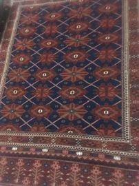 Old handmade rugs