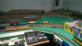 One entire room is dedicated to this train enthusiast  you must see it to believe it.