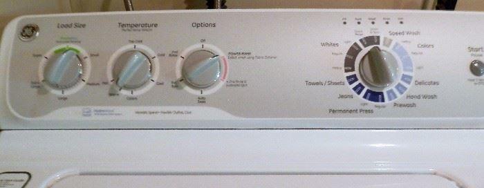 GE Hydrowave Washer & GE Sensordry Gas Dryer
