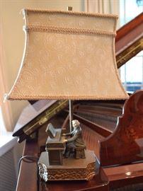 Spelt Beethoven lamp