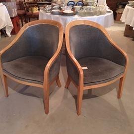 Jack Lenor Larsen chairs