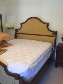 gorgeous wood King bed owners paid 7,000.You won't have to pay anywhere close to that!!!