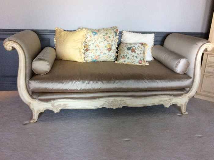 Marge Carson Stunning silk and down day bed