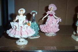 German Dresdan figurines