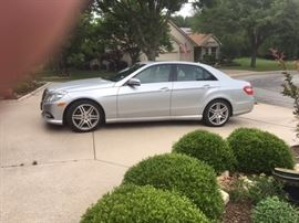 2010 Mercedes Benz E-350 with only 30,000 original miles