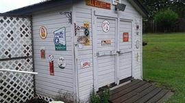 Outdoor shed is for sale