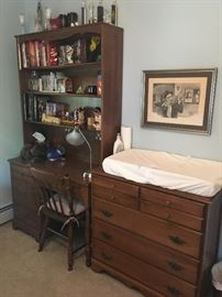 Bedroom furniture, dressers etc.