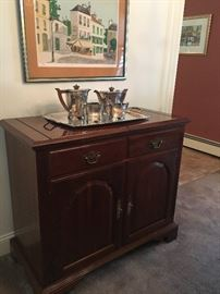 Sideboard (tea set not for sale)
