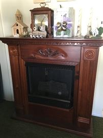Electric fireplace & home decor