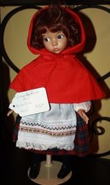 """Little Red Riding Hood"" by Ashton Drake                                  $50"