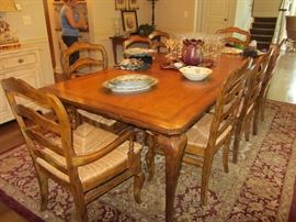 CENTURY DINING TABLE WITH CHAIRS