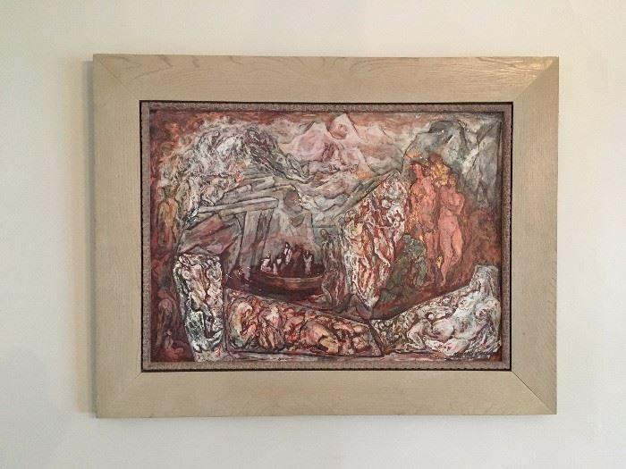Kenneth Callahan, Original Oil Painting